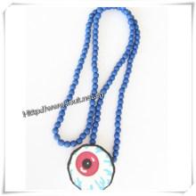 Yiwu Jewelry Factory Wholesale Necklace Wood Pendant (IO-wn007)