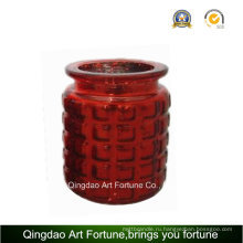 Стеклянная свеча Jar для рождественских украшений