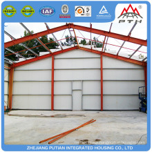 Modern tiny glass wool insulation steel structure