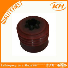 API Oilfield Downhole Tools NBR Wiper plugues (borracha de nitrilo butadieno)