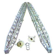Pólo de gim de alumínio em forma de A