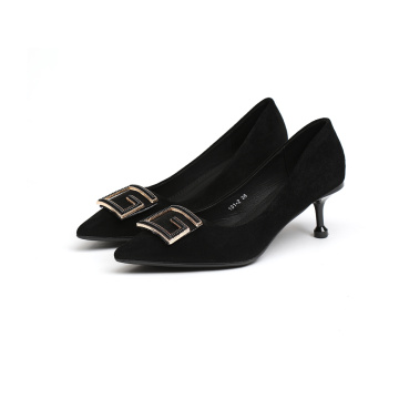 Factory Ladies Woman Heel Shoes Nueva llegada