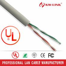 Высокая скорость CCA Cat3 2pairs lan кабель с 26awg