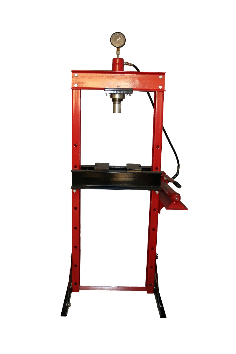 Torin BigRed 10 Ton Shop Press with Gauge