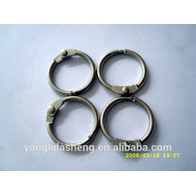 metal O shape ring and hook and loop with cheap price and low order