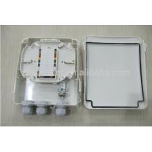 1x8 Splitter Plastic PLC Distribution Box convient à SC LC FC ST Adapter Fibre Pigtail