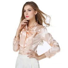 2017 Autumn new Korean version ladies shirt v-neck chiffon blouse tops women