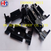 Custome Made Carbon Steel Plate Stamping Parts with Zinc Plating Color (HS-PS-001)