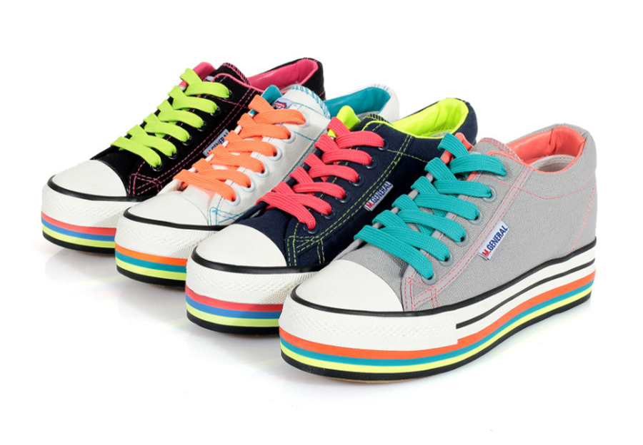 colors of Canvas Shoes