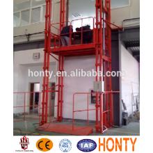 Elevador de carga guía de pequeños almacenes de carga para ascensores