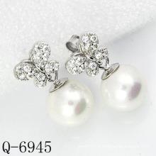 Dernières Styles Boucles d'Oreilles 925 Argent (Q-6945)