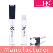 curvy and square lipgloss plastic tube