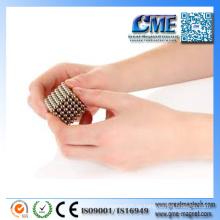 1mm magnetische Kugel-kugelförmige Magnet-rohe Erdmagneten