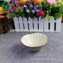 2015 Vietnam estilo al por mayor personalizado impreso tazón de cerámica