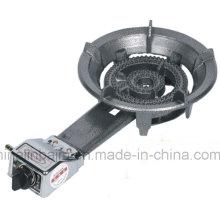 Poêle à gaz à haute pression en fonte de 2 anneaux