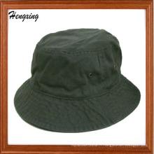 Nouveau chapeau de seau fait sur commande de couleur d'olive solide de mode