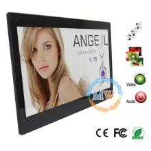 Quadro video da foto da propaganda do LCD HD de 13 polegadas 1080p com sensor de movimento