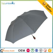 Großhandels chinesischer Lieferant kundenspezifischer Druck bequemer Regenschirm mit 2 Falten