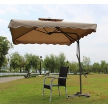 Square Shape Outdoor Garden Umbrella