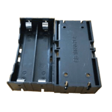 Soporte de 2 pilas AA con clavijas para PC