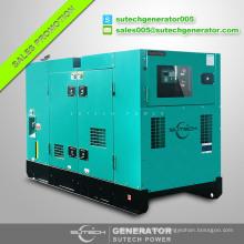 Open or silent 90kw Weichai Deutz diesel generator price with original WP4D100E200 engine