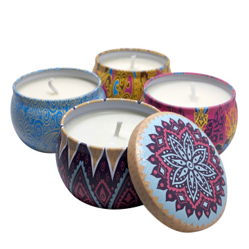 Soy Wax Portable Travel Tin candle Αρωματικό κερί
