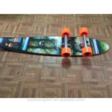 2016 new design cheap complete longboard wood cruisers
