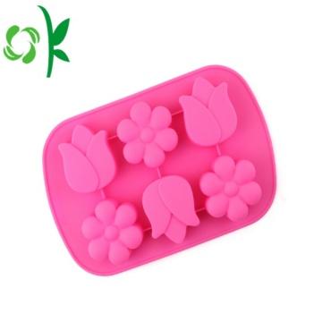 Moldes de flores para bolos bakeware para microondas