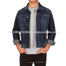 stylish fashion jeans jacket blue custom made for men and women wholesale 2017