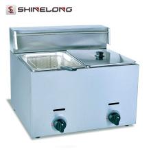 2017 Hot Sale Electric Kitchen Equipments 2-Tank and 2-Basket Fryer Industrial Fryer