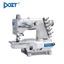 DT C007J-W122 calças de bloqueio de bainha inferior que faz a máquina