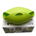 FDA silicone non-stick steamed fish bowl