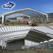 2021 Prefabricated Steel Warehouse Workshop Hangar Hall Steel Structure Price Workshop Storage Building