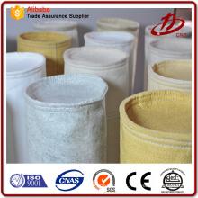 Fábrica de fornecimento de tecido saco de filtro para coletor de poeira