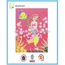 Fashion Mermaid Mosaic Sticker