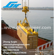 Container Spreader for marshalling yard and container unloader