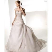 2018 nuevo vestido de novia
