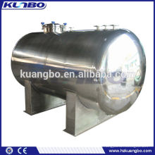 Horizontal Style Storage Tank Processing and New Condition Stainless Steel tanks