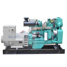 Onan Generator 90kw 122HP Used Marine Diesel Generator With Engine Cumins 6BTA5.9-GM100 CCS Certificate