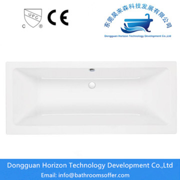 Acrylic cheap whirlpool bath with shower