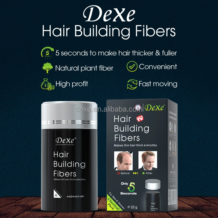 Private Label Hair Building Fibers Thin Hair Concealer