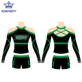 Langarm Cheerleader Uniformen