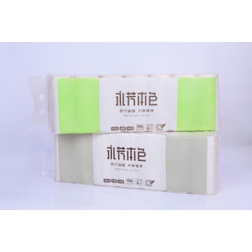 Papeles de baño de rollo de color de pulpa natural 1500g