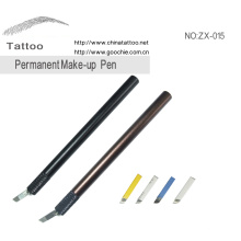 Tatuagem manual caneta para sobrancelha bordado