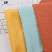 Exemples tissés de prix de tissu en sergé de rayonne teint