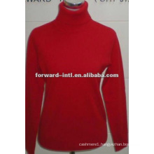 pure cashmere turtle neck pullover for ladies