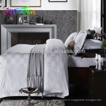 2018 hôtel lin / ISO9001 certifié pas cher hôtel ensemble de literie quatre saisons ensembles de literie d'hôtel