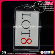 Custom logo blank acrylic key chains