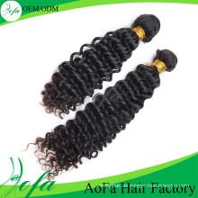 100% unverarbeitete menschliche mongolische Welle Haar Remy reines Haar