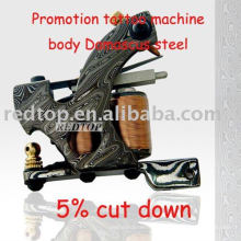 Handgemachte Melaleuca Damaskus Stahl Tattoo Maschine Liner